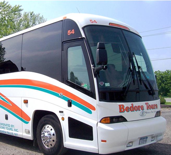 Bedore Airport, Niagara Falls Charter Bus