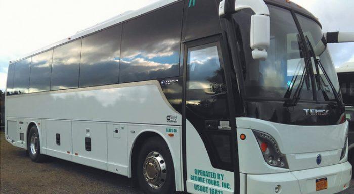 Niagara Falls Charter Bus, Bedore Tour Bus