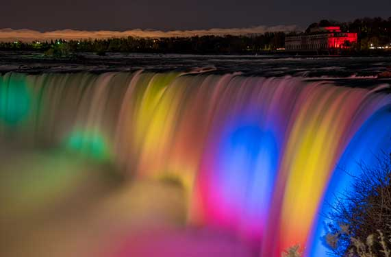 Niagara at Night, Niagara Falls Tours