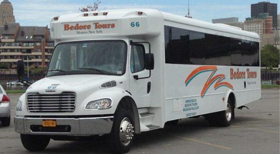 Bedore bus, Niagara Falls Charter Bus,