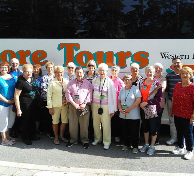 New York family reunion bus rental, Bedore Family Reunions