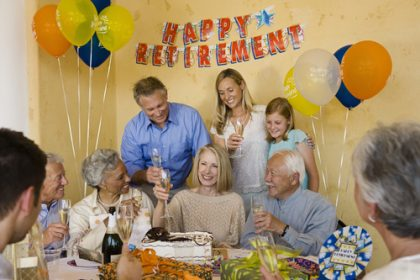 Celebrating Retirement , retirement