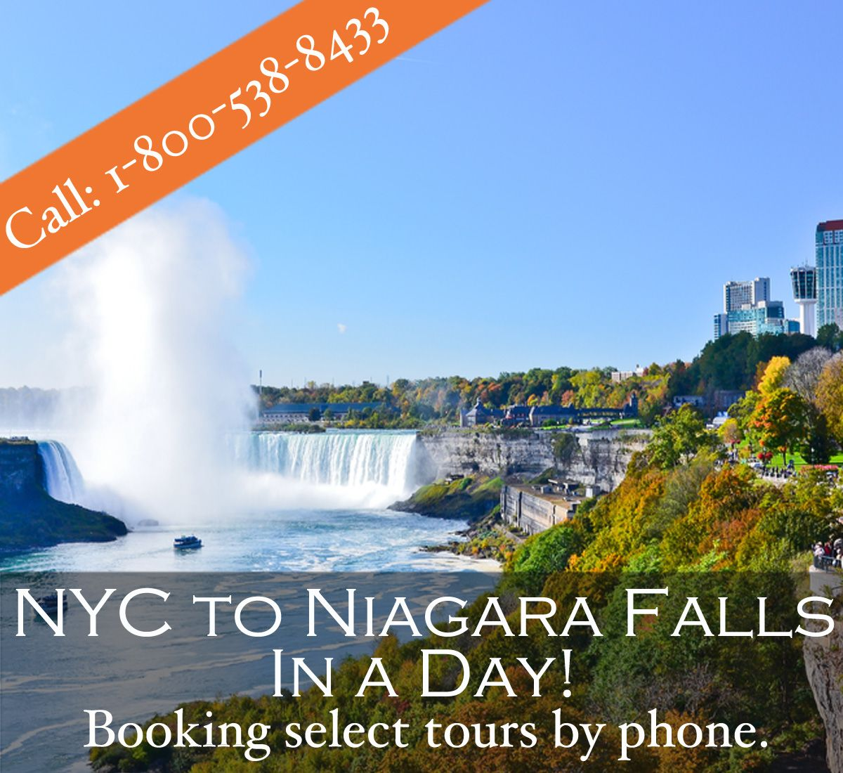 niagara falls bus tours from nyc