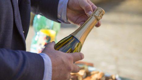 Open a Wine Bottle, Rochester Charter Bus