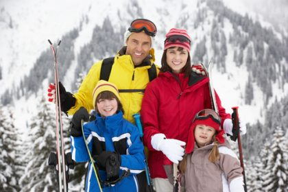 Skiing As A Family, Rochester Charter Bus